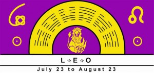 Leo Symbol with rulership of Sun signified