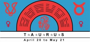 Taurus Symbol with planetary rulership of Venus